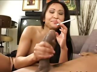 tokyo chick having brutal cock in mouth