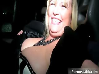 Fat old Uk milf gets ready for some part6