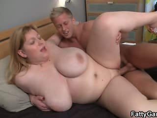 Young guy loves to fuck huge fat sluts
