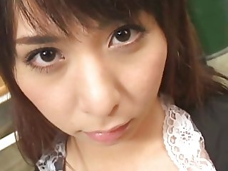 Yuka Osawa begs for cum in her mouth