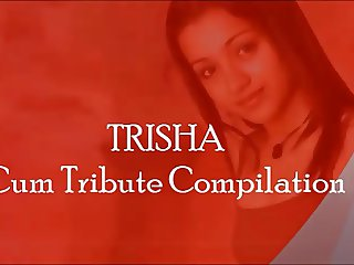 Trisha Cum Tribute Compilation