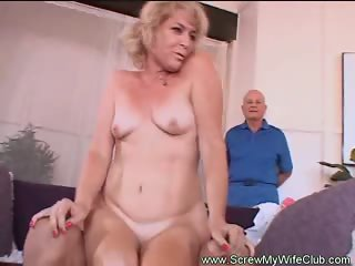 Mrs. Wolf Is One Sexy Swinger!