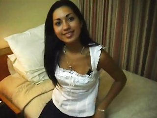 Amira - girlfriend in hotel room
