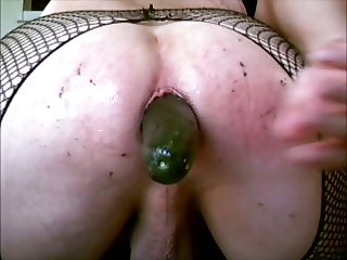 Cucumber Anal Party