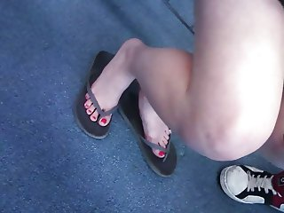 Candid Teen Feet