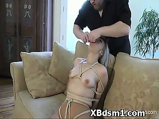 Kinky Babe In Abusive Bondage And Smothering Fetish