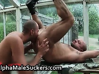 Hot alpha males in gay fucking part5