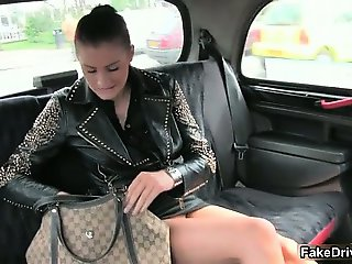 Sexy brunette woman goes crazy having part5