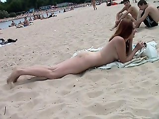 Beach beauties with sweet young tits