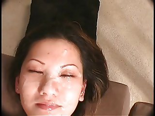 Asian Whore Gets Fucked And Then Receives A Creamy Facial