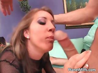 Busty redhead MILF fucking and sucking part2