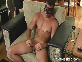 Muscled latin stud busting nuts part3