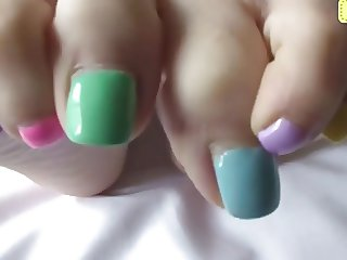 Sweet Candy Toes
