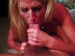 Slimy blowing blonde