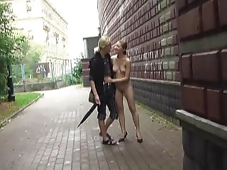 Public Nudity 1: Natalia naked in public