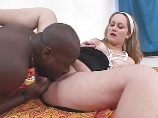 Gabriella & a black guy (Interracial Sex!)