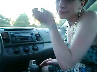 18yo chick blowing driving instructor