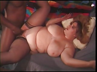 Some plump ladies indulging in anal