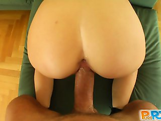 Jenny is a shy alternative babe. She is very cute and has a super wet pussy. It was great fucking her and feeding her my cum