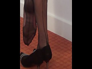 I love the dangling. This is my side Foot Fetish - Part 02