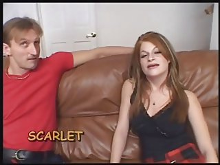 Ugly Redhead banged hard in Ass