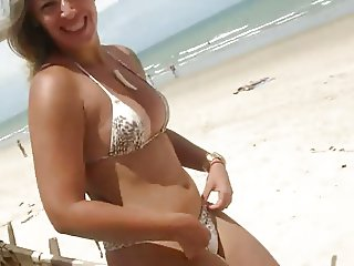 Nice Milf at the brazilian beach