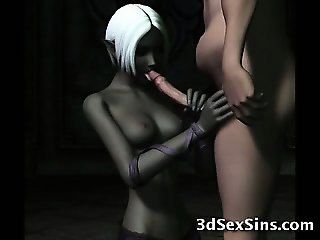 Monsters Fuck 3D Elf Princesses!