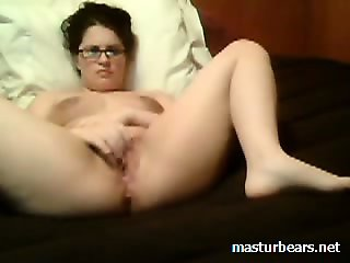 Masturbating with my neighbors cum