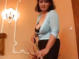 Mature woman and two young men - 3