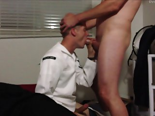 Boy1: Young Twink Sailor Cocksucker in His Whites