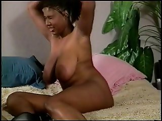Cock sucking chick gets her pussy filled with cock and her ass dildo boned