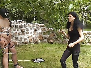 outdoors fun for Mistress