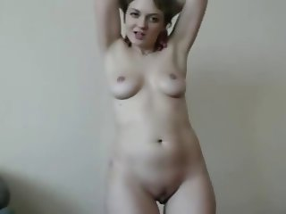 Smilling Beauty Posing On Cam