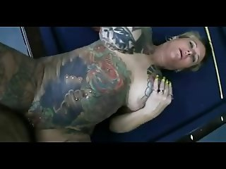 Thick Slut Blackwidow gets her pierced pussy fucked