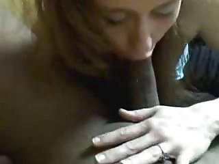 White wife sucks black dick, flashes wedding ring bbc