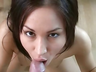 Blowjob with Swallow from a delicious Girl. 3.
