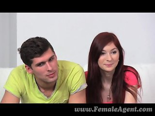 FemaleAgent - MILF indulges in hot threesome