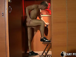 Intense Glory Hole Action! Watch Sexy Stud Enrico In Between