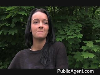 PublicAgent Sexy raven haired beauty