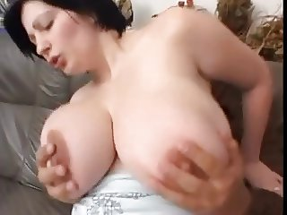 German girl with fantastic tits fucked