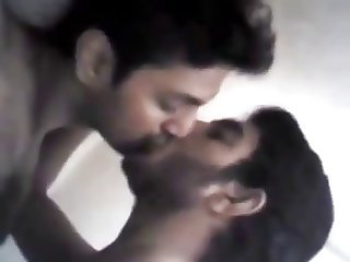 Pakistani college boys kissing