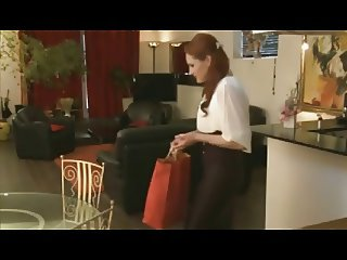 french milf redhead businesswoman dp