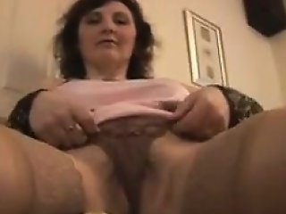 Mature Woman Teasing Her Body