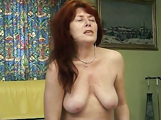 Another attractive mature lady solo