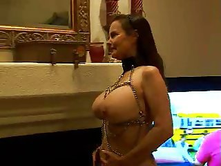 tits bound in chains