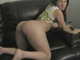 Teen Girl w Big Ass gets DoggyStyle Sex on Couch