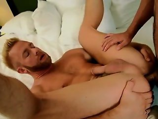 Hardcore gay Flip Flop Fucking With The Boss