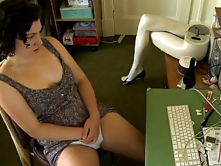 Cousin watching porn and fingering