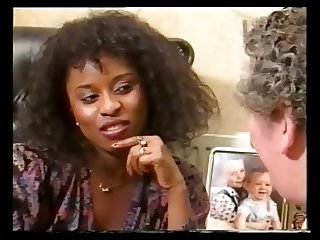 ebony beauty spanked by older men