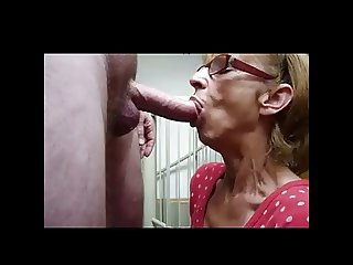 Granny Sucking BVR